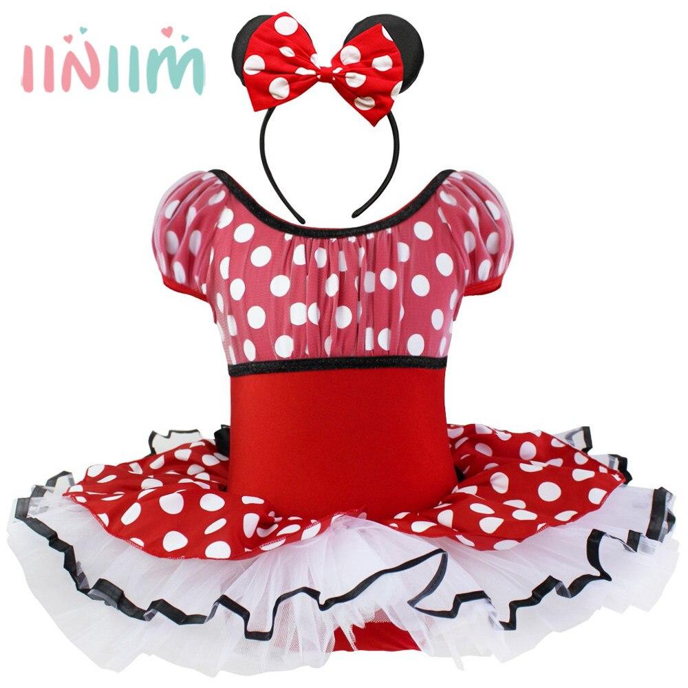 Tienda Online Iiniim bebés Minnie Mouse lunares vestido de bola ...