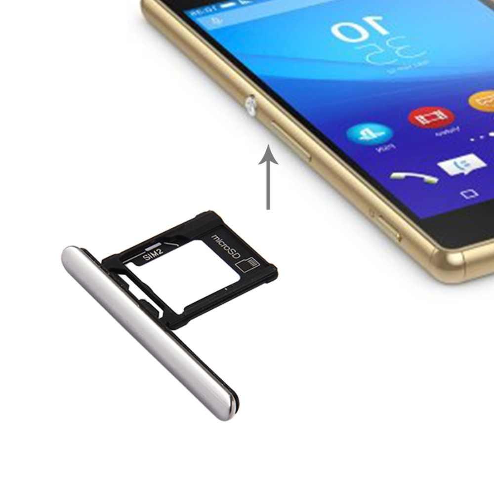 I Parts Beli Baru Micro Sd/Kartu SIM + Kartu Slot Port Debu Plug untuk Sony Xperia XZ Premium (dual Sim Versi)