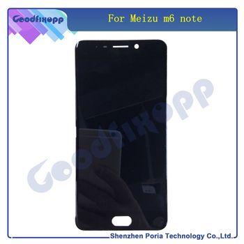 Dla Meizu M6 Note ekran dotykowy Digitizer + wyświetlacz LCD dla Meizu Note 6 5 5 #8222 telefon czarny biały kolor z ramką tanie i dobre opinie GOODFIXOPP CN (pochodzenie) Ekran pojemnościowy 1920x1080 3 For Meizu M6 Note 5 5 inch Tested one by one before shipping