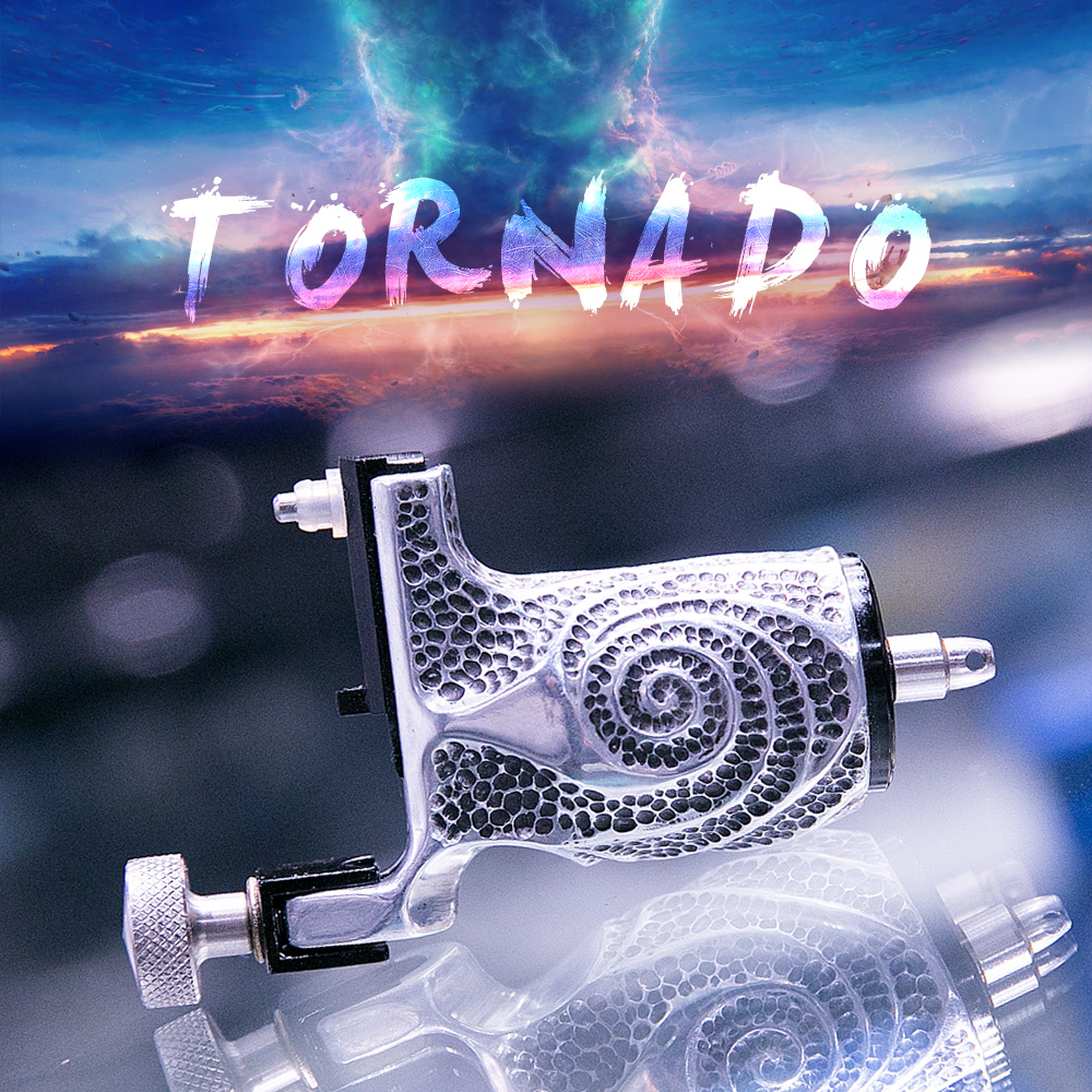New Arrival Pure Carved Design Rotary Tattoo Machine Imported Motor Tattoo Guns Supplies