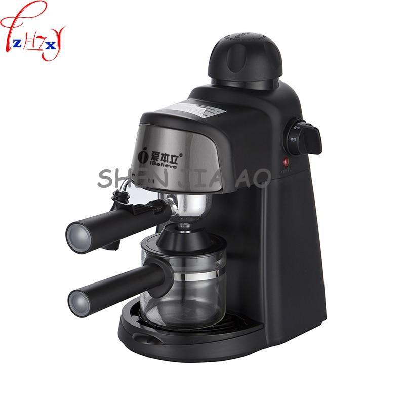 1pc 220V CM6810 semi-automatic Italian American coffee machine 5 Pa pump pressure home commercial steam beat milk bubble american dj bubble junior купить