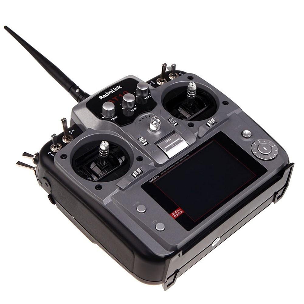 Full Set Drone 4-axis Aircraft Kit HMF U580 Totem Frame 700KV Disk Motor GPS APM 2.8 Flight Control AT10 Transmitter F11066-G