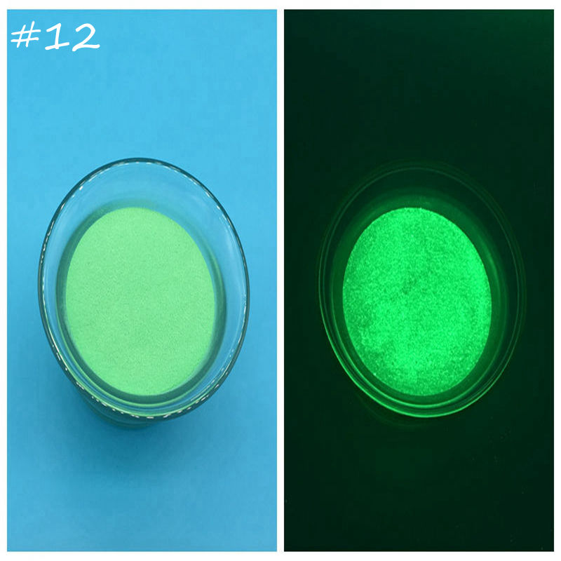 apple green color luminous glow powder dust 100glot pigment powderglow in - Apple Green Color