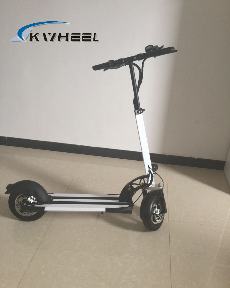 2016 400W Powerful Two Wheel Mini Foldable Electric Scooter 36V Lithium E-Bike Disc Brake 10 inch wheel E-Scooter