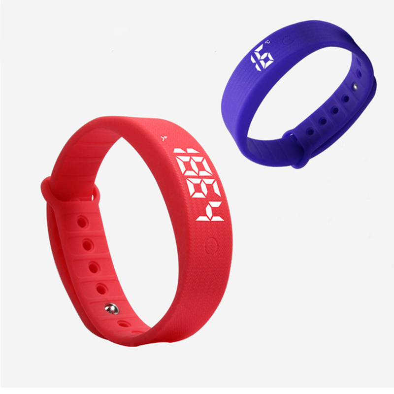 W5S W5 Smart Bracelet LED Watch Sleeping Pedometer Vibration Alarm Clock W5S Sports Smartbracelet wristband for