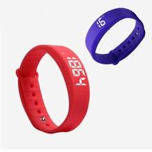 W5 W5S Смарт Браслет Часы Спящая Шагомер Вибрации Будильник W5S Спортивные Smartbracelet браслет для студент P20