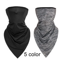 WOSAWE Summer Scarf Motorcycle Face Mask Training Cap UV Protection Neck Cover Running Sports Balaclavas Breathable Ski Shield