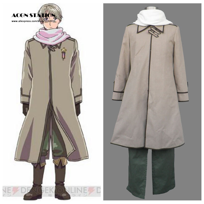2017 Customize for adults and kids Free Shipping Axis Powers Hetalia Anime Russia Halloween Kids Cosplay Costume