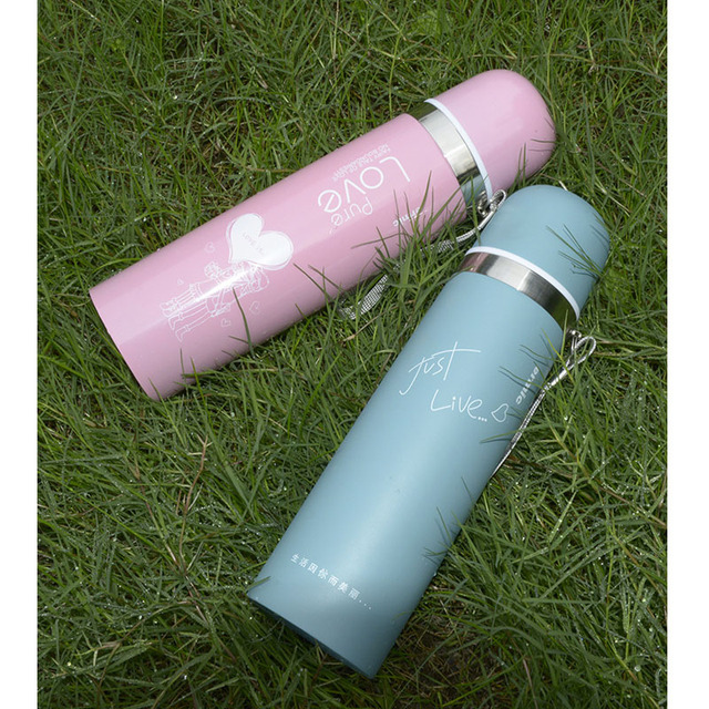 1pc Thermos CupThermo Mug Vacuum Stainless Steel Bottle Thermal Thermos Bottle Insulated Tumbler Travel Thermocup Coffee Mugs 4