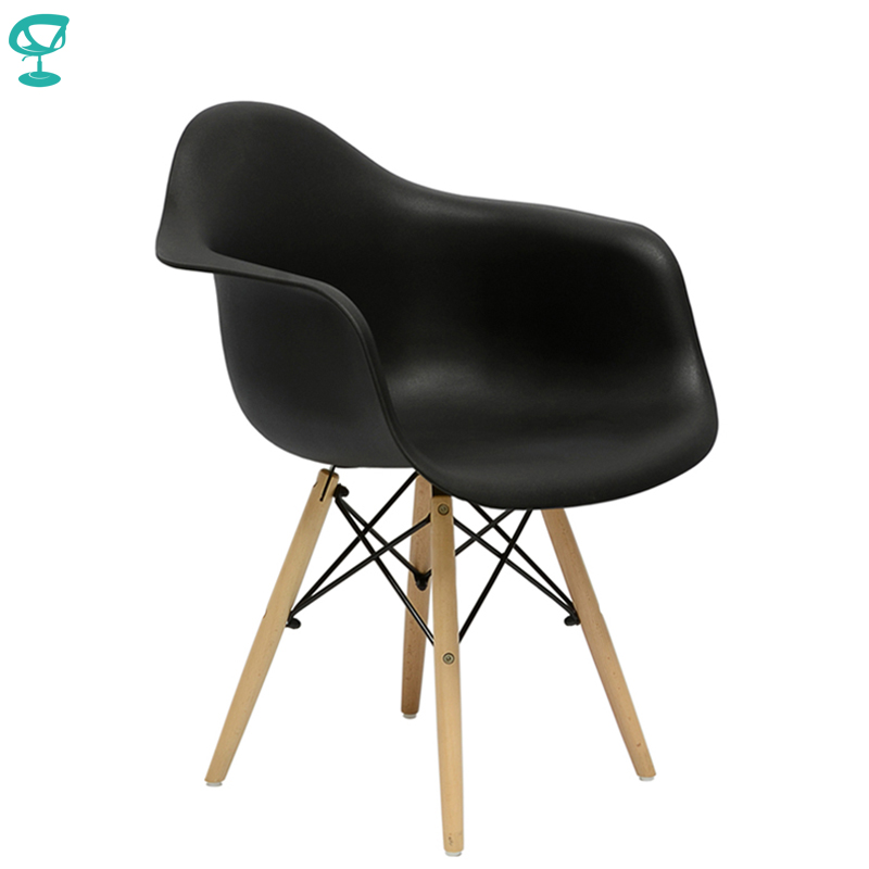 94897 Barneo N-14 Plastic Kitchen Breakfast Interior Stool Bar Chair Kitchen Furniture Black Free Shipping In Russia
