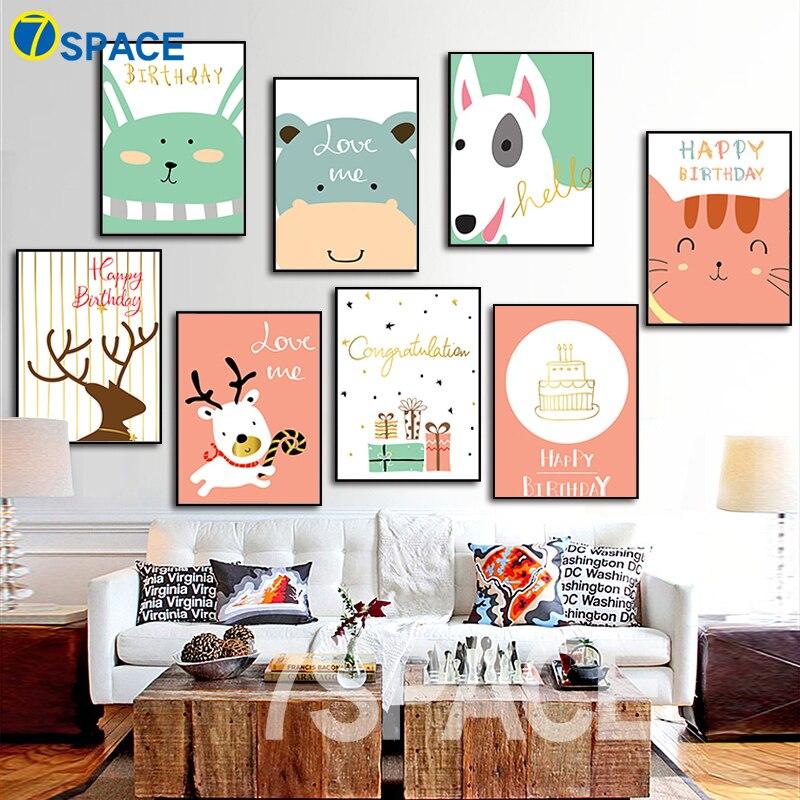 Karikatūra - suņu briedis Trušu kaķis - plakāti un izdrukas, - Mājas dekors