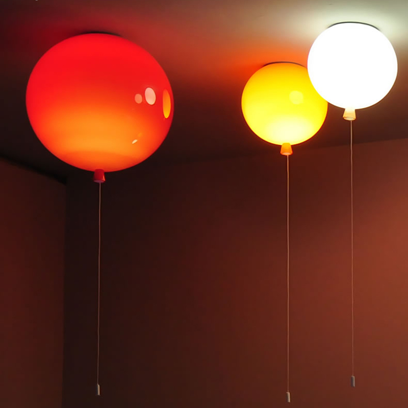 Romantic Colorful Balloon Ceiling Lights Baby Childrens Room Cozy Lamp Lustre Luminarias Minimalist Plafonnier Moderne Lamparas De Techo Ceiling Lights Lights & Lighting