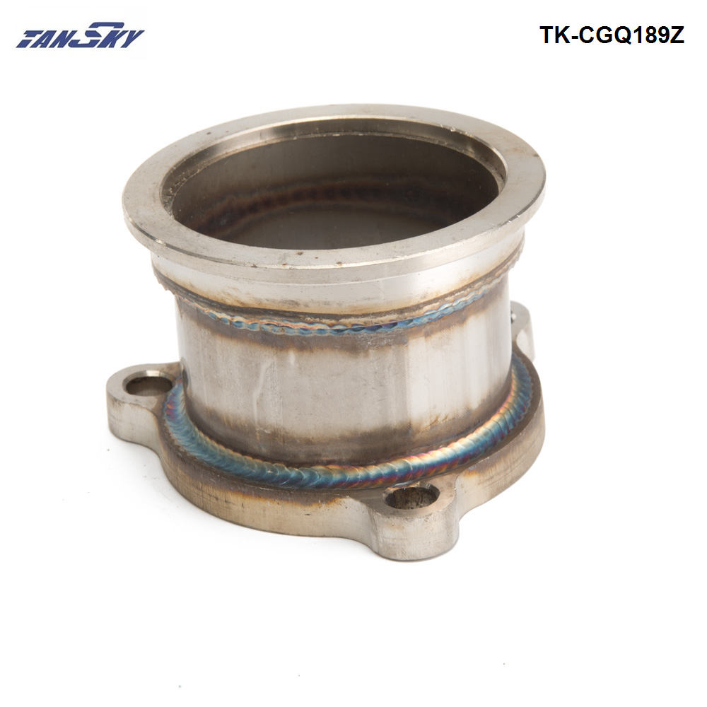3 inch 76mm Stainless Steel V Band Flange Adapter Adaptor for T4 Turbo V-Band Adapter