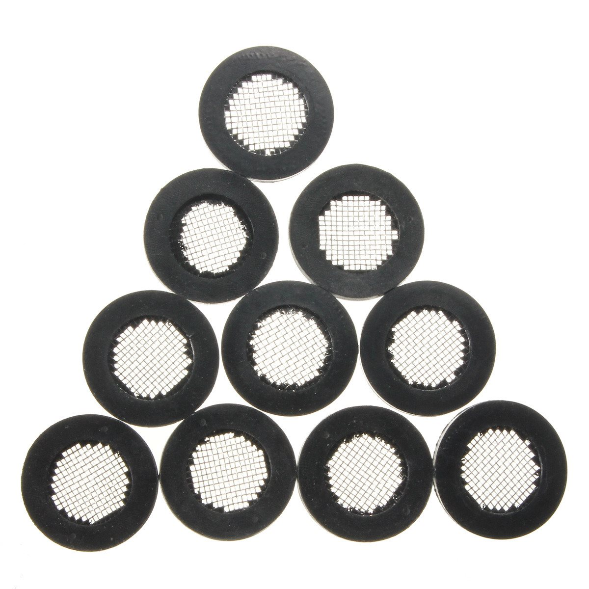New 10pcs Filter Rubber Gaskets Washer with Stainless Steel filter 1 ...