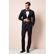 mens fashion suit beach tux men 2017 custom made suit slim fit black formal wear dress 2017