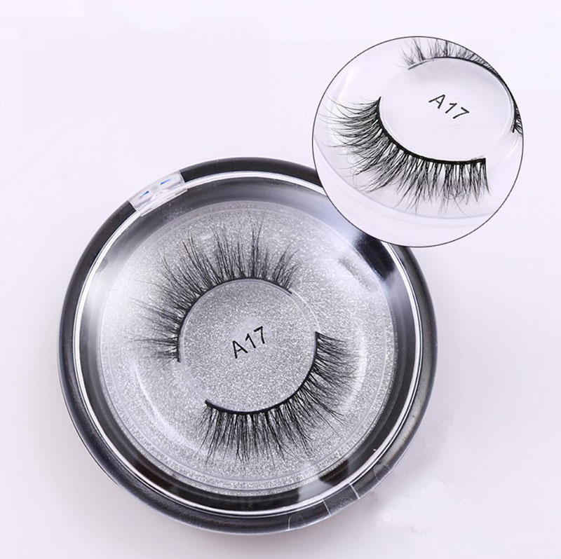 A17 3D Real Mink Lashes Multilayer Soft Thick False Eyelashes Full Strip Eyelash Extentions Cilios Naturais Eye Makeup Tools