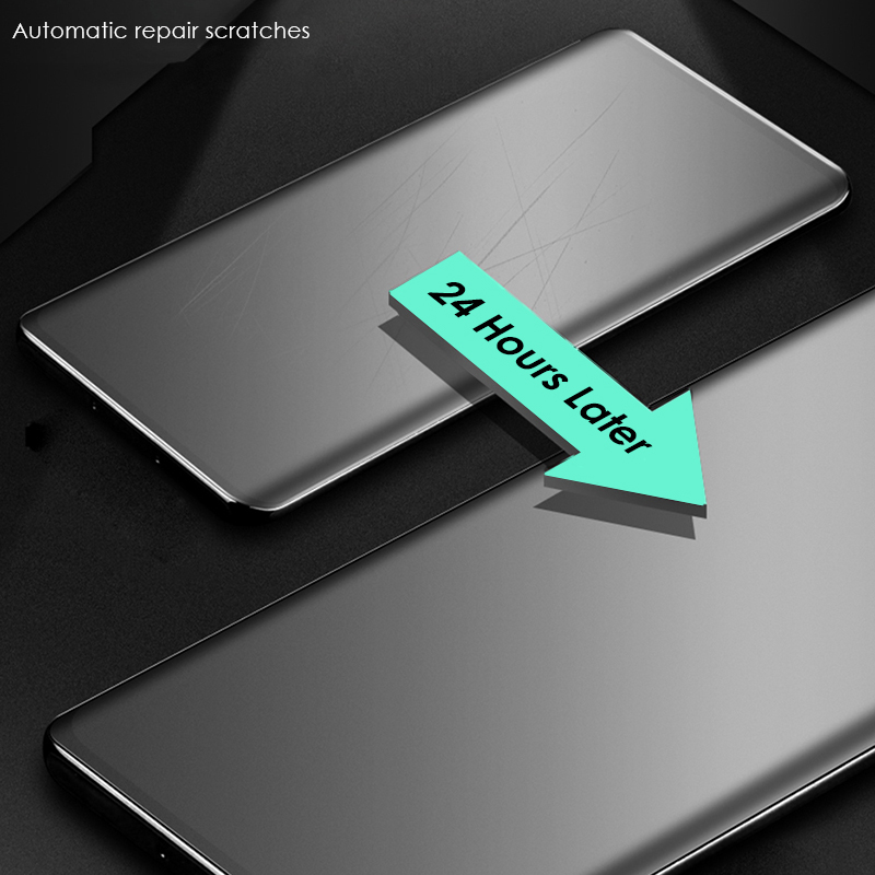 CHYI Soft Curved Tempered Glass Matte Screen Protector for Oneplus 7t 8 Pro 1