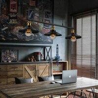 Винтаж подвесные светильники Лофт подвесной светильник Ретро подвесной светильник абажур для ресторана/бар/Кофе магазин домашнего освеще
