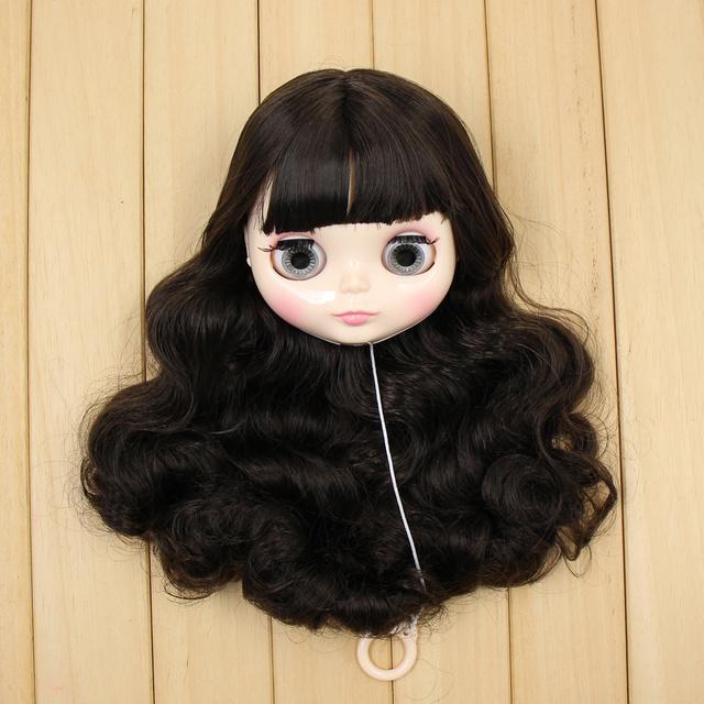 Neo Blythe Doll Head With Hair