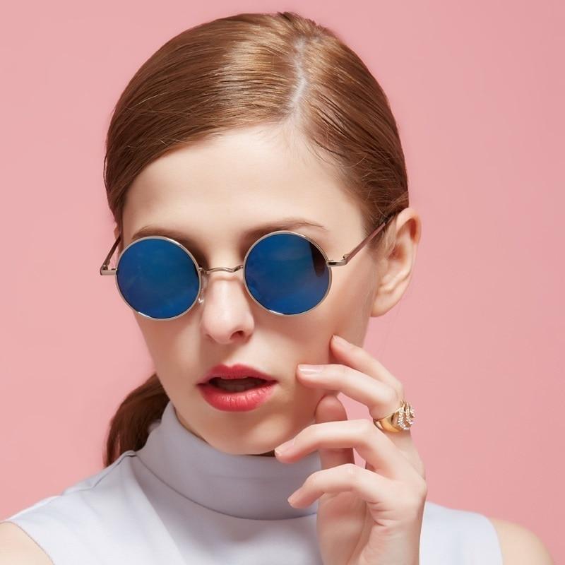 697b7442f2 Cat eyes Polarized Round Sunglasses Men Vintage Retro Sun Glasses Women  Eyewear lunette Brand gunes gozlugu ocheshnik for ladies-in Sunglasses from  Apparel ...
