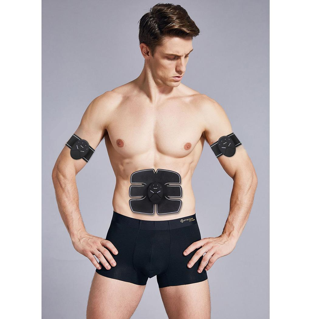 Massage Body Fitness Abdominal Muscle Stimulator Equipment For Training Apparatus Home Electric Muscle Traine Exercises Machine in Massage Relaxation from Beauty Health