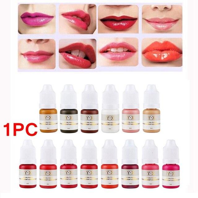 22 Color Semi Permanent Makeup Eyebrow Inks Lips Eye Line Tattoo ...