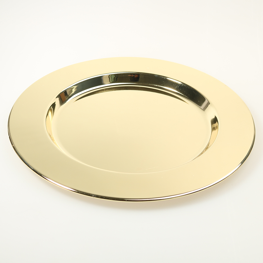 Wonderful Peneede Classic Stainless Steel Charger Plates Service Dinner Gold  JF65