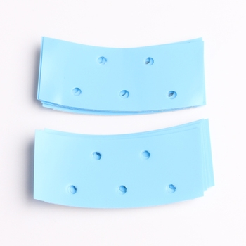 "HARMONY 180pcs 0.75"" x 2"" Mini Strip Blue-Liner Blue Grab Tape Tabs Doube Sided Super Hair Tape Stickers for Toupee Wigs"