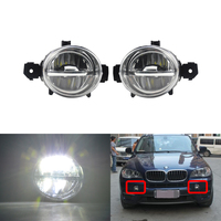 Led Front Driving Fog Light Kits Cree Chips For BMW E70 X5 Pre LCI 2006 2007 2008 2009 2010 E82/E87 E84 X1 E83 X3 LCI