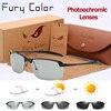 Photochromic Glasses Chameleon Polarized Sunglasse Men Women All Day Change Color For Snow Light Rays Daylight