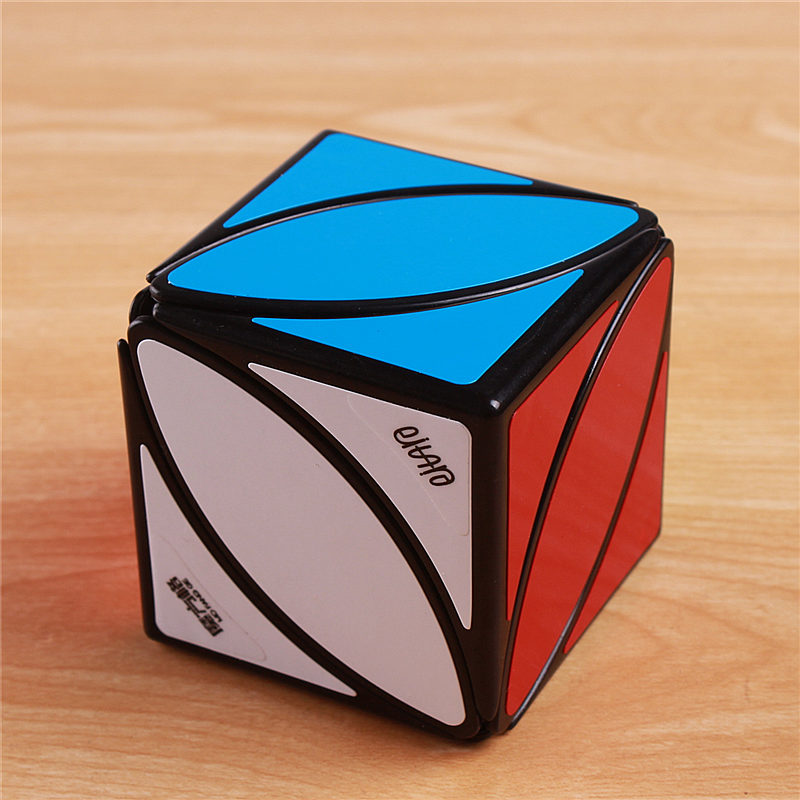 Original QiYi Mofangge Lvy Blad Line Pussel Magic Cube Speed - Spel och pussel - Foto 4
