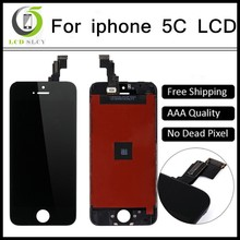 Best Quanlity Without Dead Pixels Spots For Apple iPhone 5C LCD Display Touch Screen Digitizer Assembly