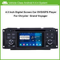 Android Car DVD/GPS player for Chrysler Voyager Jeep Wrangler Grand Cherokee Sebring Concorde PT Cruiser 300M With GPS