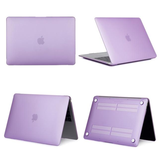 Purple Hard Case For Macbook Air & Pro 7
