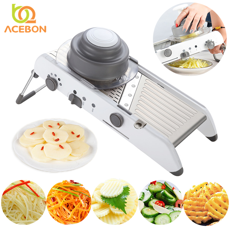 Multifunction Vegetable Adjustable Mandoline Slicer Manual Potato Peeler Carrot Grater Dicer Kitchen Tool Vegetable Fruit Cutter