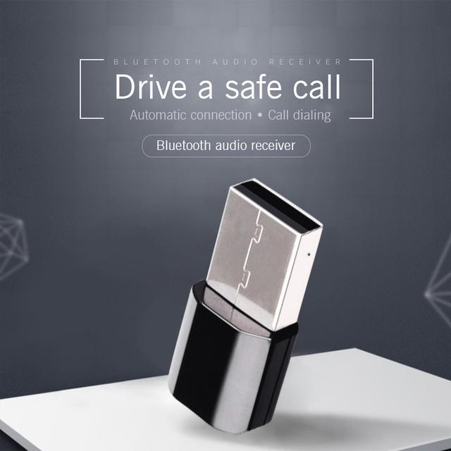 Bluetooth AUX Bluetooth Car Mini Bluetooth Receiver Adapter Wireless Speakers Audio Manos Libres Bluetooth Para Autos