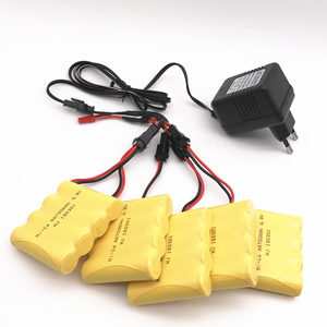 4.8V 700mAh Ni-Cd Battery With 5 in 1 Charger For Remote Control Toys Lighting Electric Tool AA Group RC TOYS Battery Group(China)