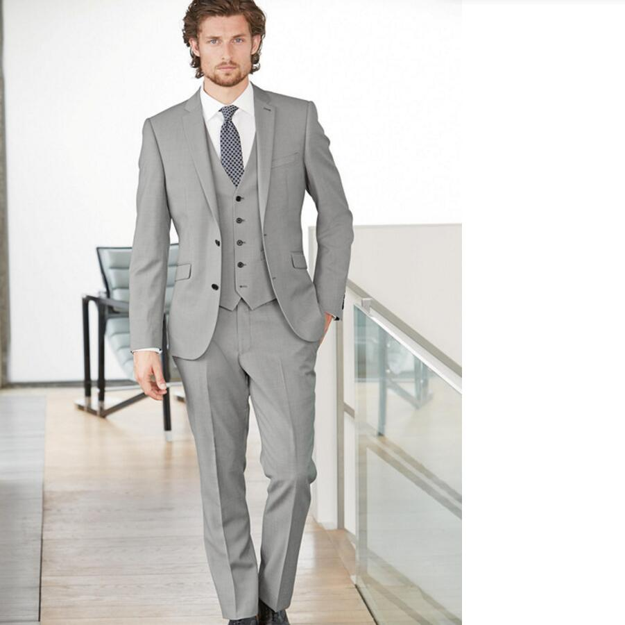 Latest Fashion Style Mens Formal Wear Clothing Custom Tuxedos Slim ...
