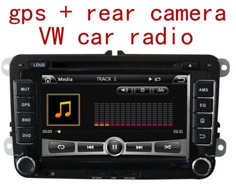 free shipping original cd player car radio stereo aux mp3 for vw golf 5 6 jetta mk5 mk6 passat. Black Bedroom Furniture Sets. Home Design Ideas