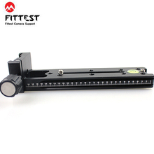 FITTEST FVR-150 150 мм вертикальный узловой слайд зажимной рельс для объектива Рыбий глаз и широкоугольный объектив панорамный зажим Arca Swiss RRS совместимый