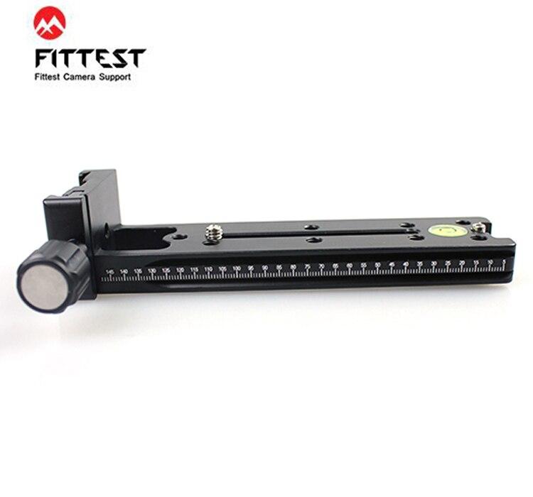 FVR-150 le plus adapté 150mm Rail de serrage Vertical à glissière nodale pour objectif Fisheye et objectif grand angle pince panoramique Compatible Arca Swiss RRS