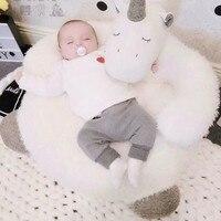 Children's sofa toy unicorn soft cushion birthday present Plush sofa