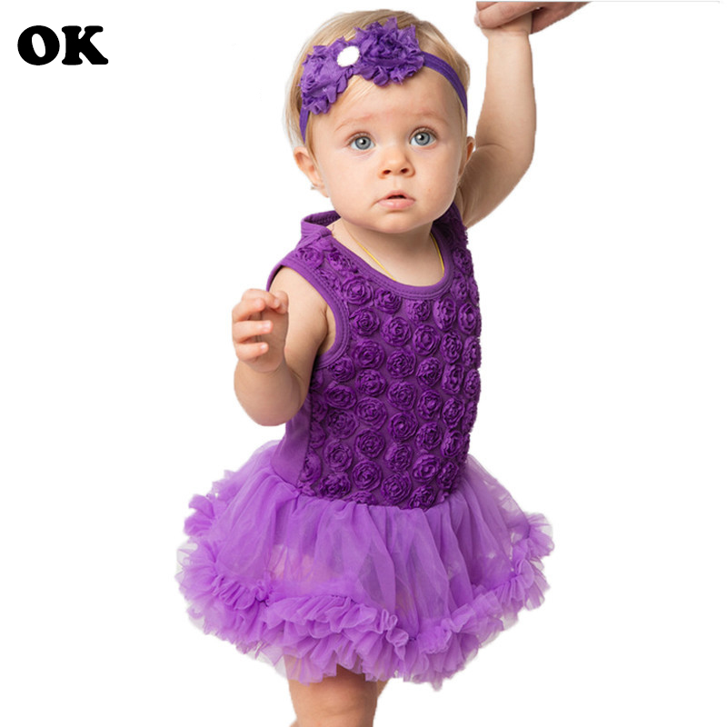 0 2 Year Birthday Baby Girl Dress Summer Girls Embroidery Clothes Kids Dresses For Baby Girl Party Dress Kids Baby Clothes in Dresses from Mother Kids