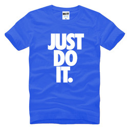 Just do it letter printed mens men t shirt t shirt fashion 2016 new short sleeve.jpg 250x250