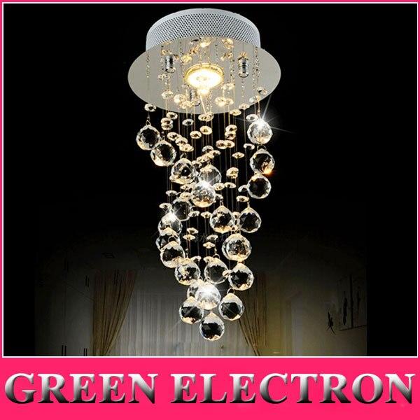 Modern Luxury LED Crystal Chandelier Bedroom Corridor Hallway Entrance Crystal Chandelier Bar Balcony LED Lamp Free Shipping все цены