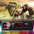 Универсальный Автомобиль Радио-Плеер Автомобиля Стерео Аудио В Тире 12 В Bluetooth hands-бесплатные звонки FM Стерео Радио USB/SD/MMC Автомобильная Электроника