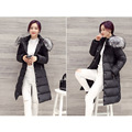 2016 Winter New Women Thicken Slim  Solid Color Causal Hooded Long Size Down Coat
