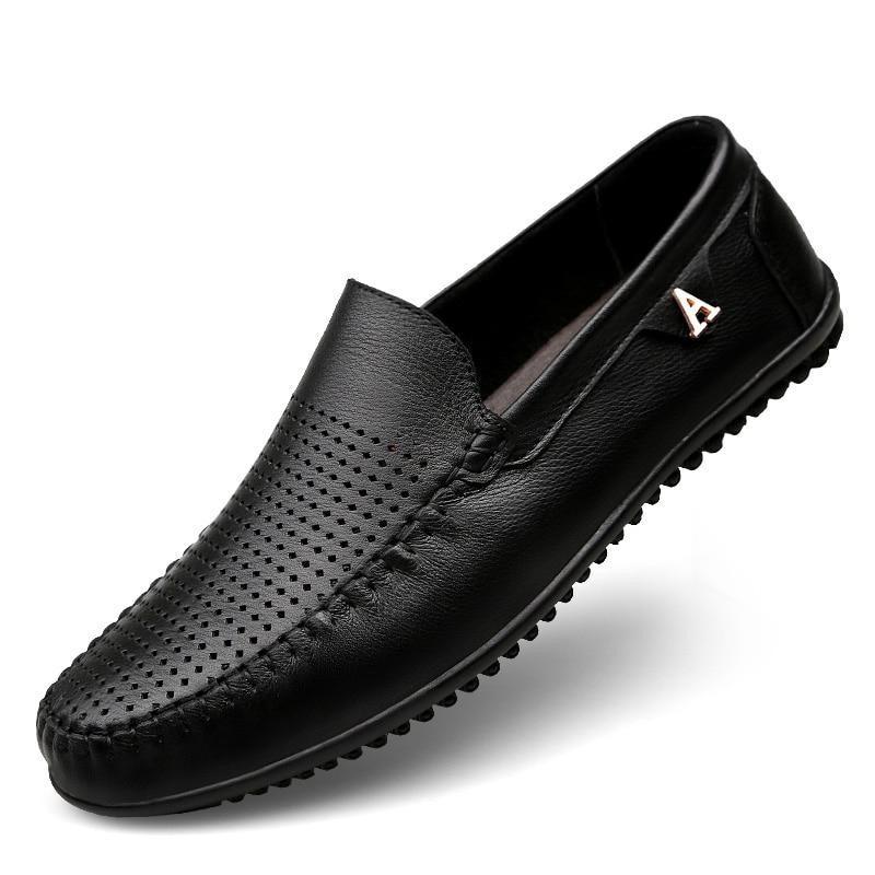 Clax άνδρες φόρεμα παπούτσια μαύρο Loafers - Ανδρικά υποδήματα - Φωτογραφία 4