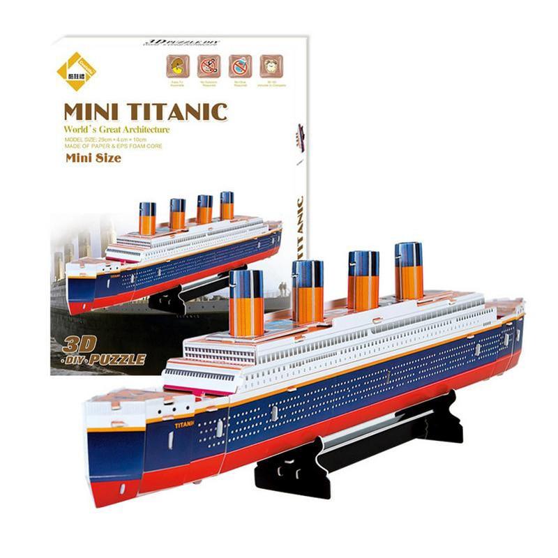 Výsledok vyhľadávania obrázkov pre dopyt 3d puzzle mini titanic