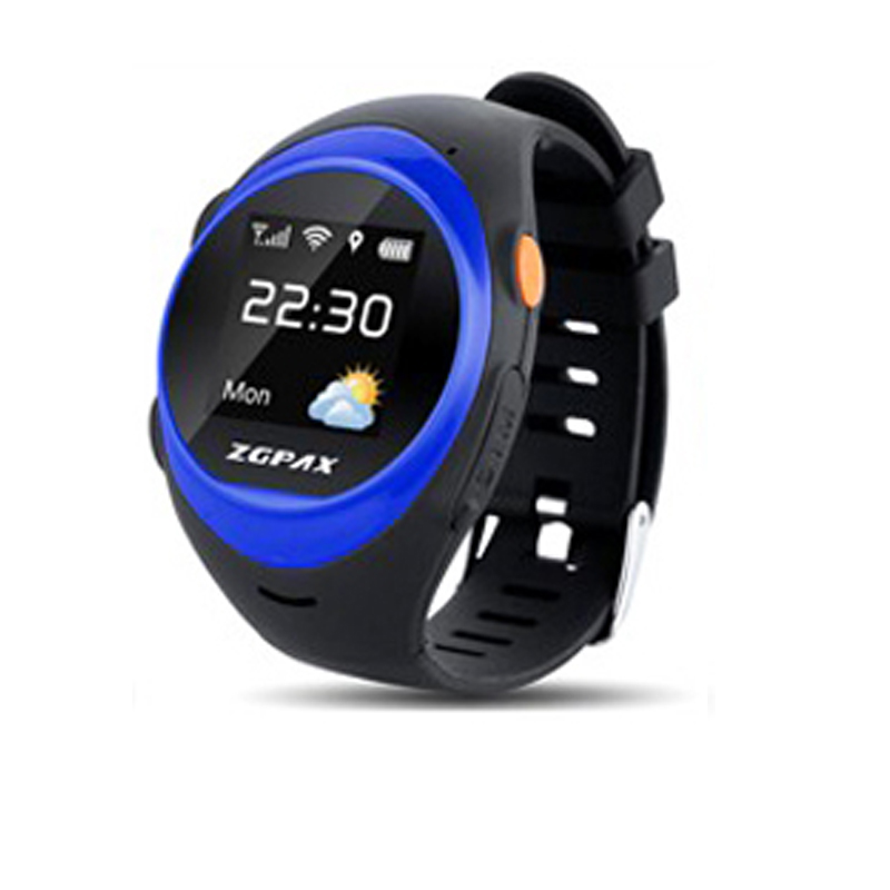 2016 Bluetooth Smart watch 1.2  HD SOS GPS Old Man Child Positioning Tracker Waterproof for Android / IOS 2016 bluetooth smart watch gt08 for